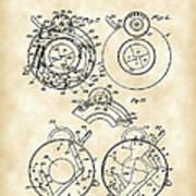 Camera Shutter Patent 1910 - Vintage Poster
