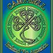 Campbell Ireland To America Poster