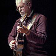 Canadian Folk Rocker Bruce Cockburn Poster