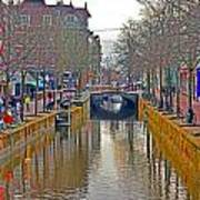 Canal Of Delft Poster
