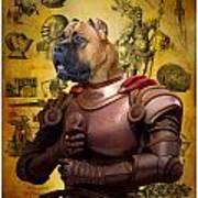 Cane Corso Art Canvas Print Poster