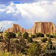 Capitol Reef National Park. Catherdal Valley Poster