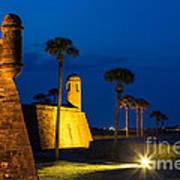 Castillo De San Marcos St. Augustine Florida Poster