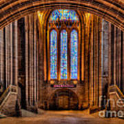 Cathedral Window Poster by Adrian Evans