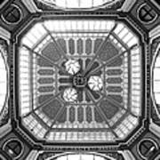 Ceiling Of Leadenhall Market In London Poster