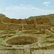 Chaco Canyon Ruins Poster