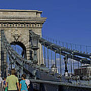 Chain Bridge Budapest Poster