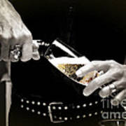 Champagne Toast Poster