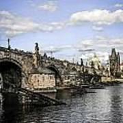 Charles Bridge Prague Poster