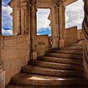 Chateau De Blois Staircase / Loire Valley Poster