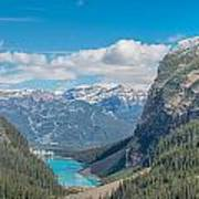 Chateau Lake Louise - Banff National Park - Canada Poster