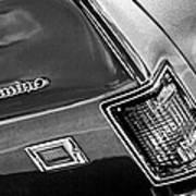 Chevrolet El Camino Taillight Emblem Poster
