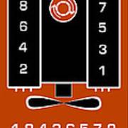 Chevrolet Firing Order Poster by Gabe Arroyo
