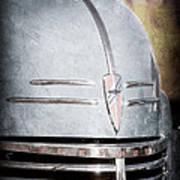 Chevrolet Hood Emblem - Grille Emblem Poster