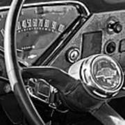 Chevrolet Steering Wheel Emblem Poster