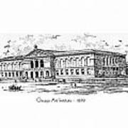 Chicago Art Institute - 1879 Poster
