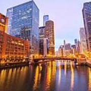 Chicago River View Poster