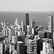 Chicago - That Famous Skyline Poster by Christine Till