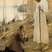 Christ And Mary Magdalene  Poster
