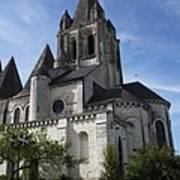 Church - Loches - France Poster