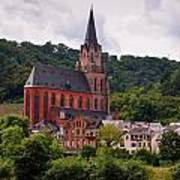 Church Of Our Lady  Oberwesel Am Rhein Poster