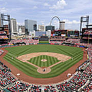 Cincinnati Reds V. St. Louis Cardinals Poster