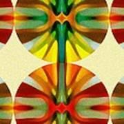 Circle Pattern 2 Poster