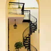Circular Staircase Poster