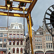 City Of Amsterdam Urban Scenery Poster