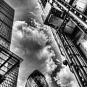 City Of London Iconic Buildings Poster