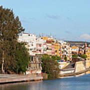 City Of Seville In Spain Poster
