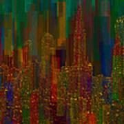 Cityscape 5 Poster by Jack Zulli
