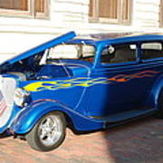 Classic Custom Car Poster