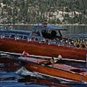 Classic Tahoe Runabouts Poster