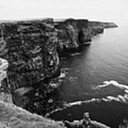 Cliffs Of Moher County Clare Ireland Poster