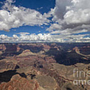 Clouds Over Grand Canyon Poster