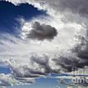 Cloudscape 1 Poster
