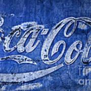 Coca Cola Blues Poster