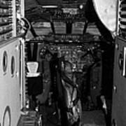 cockpit of the British Airways Concorde Poster