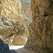 Contrasting Canyon Colors In Big Painted Canyon Trail In Mecca Hills-ca Poster
