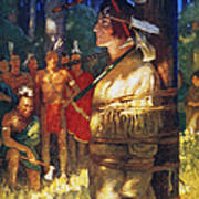 Cooper: Deerslayer, 1925 Poster