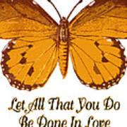 1 Corinthians 16 14 Poster