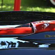Corvette Torch Poster