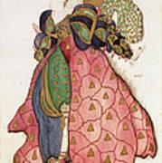 Costume Design For The Ballet La Poster
