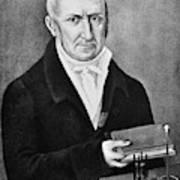 Count Alessandro Volta (1745-1827) Poster