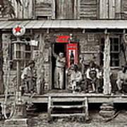 Country Store Coca-cola Signs Dorothea Lange Photo Gordonton North Carolina July 1939-2014 Poster