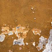 Cracked Stucco - Grunge Background Poster