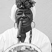 Cuban Lady Poster
