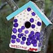 Cute Little Birdhouse Poster