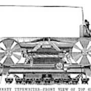Daugherty Typewriter, 1895 Poster